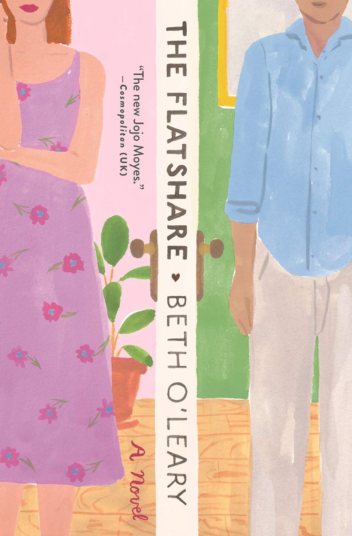 Review of The Flatshare by Beth O'Leary, a popular booktok recommendation that didn't live up to the hype.